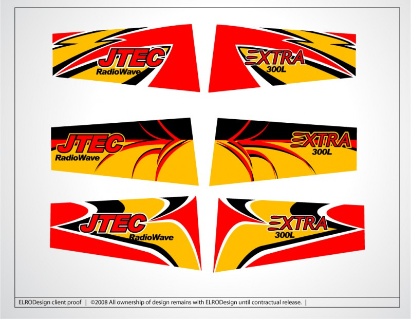 Wing Designs for JTEC-RC