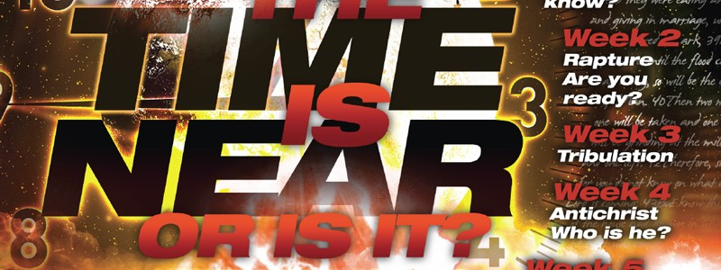 The time is near postcasrd