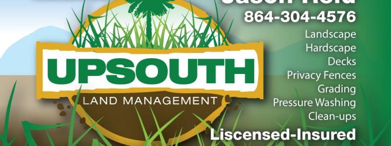 Upsouth Land Managment identity.